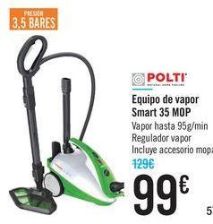 Oferta de Equipo de vapor Smart35 MOP POLTI  por 99€