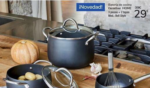 Oferta de Batería de cocina Carrefour Home  por 29€