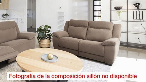 Oferta de Sillón Relax Tela Langreo Marrón * por 797€