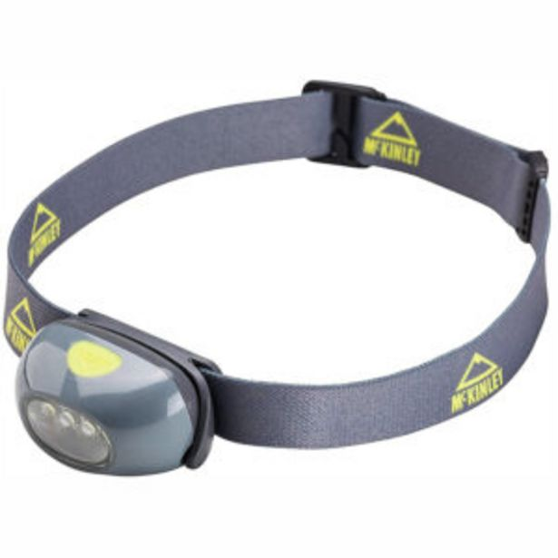 Oferta de Mckinley Lámpara Frontal Headlamp 100 por 11,99€