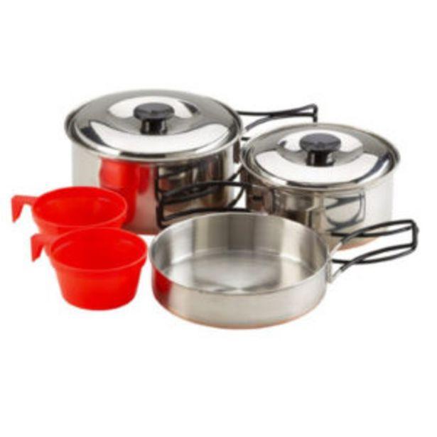 Oferta de Mckinley Cooking SET Stainless Steel2 por 19,99€