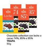 Oferta de Chocolate collection con leche o cacao TRAPA por 0,9€