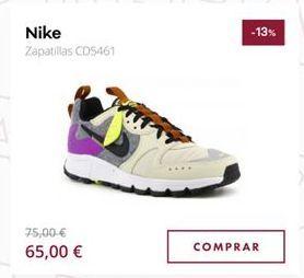 Oferta de Zapatillas Nike por 65€