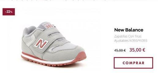 Oferta de Zapatillas New Balance por 35€