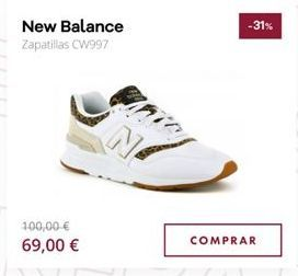 Oferta de Zapatillas New Balance por 69€