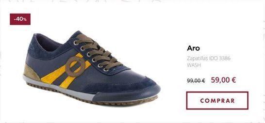 Oferta de Zapatillas Aro por 59€