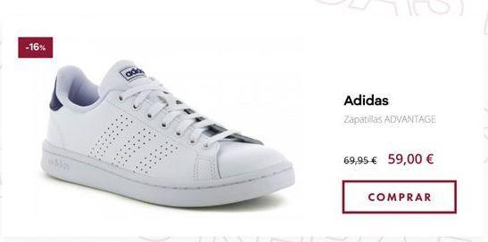 Oferta de Zapatillas Adidas por 69,95€