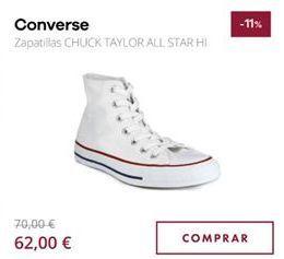 Oferta de Zapatillas Converse por 62€