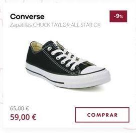 Oferta de Zapatillas Converse por 59€