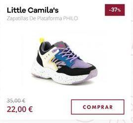 Oferta de Zapatillas por 22€