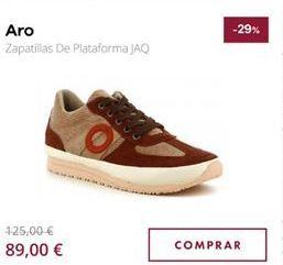 Oferta de Zapatillas Aro por 89€