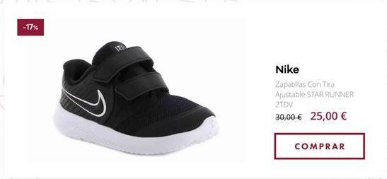 Oferta de Zapatillas Nike por 25€