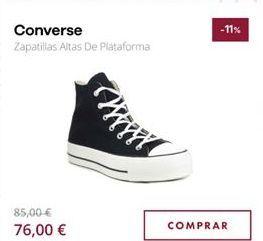 Oferta de Zapatillas Converse por 76€
