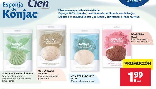 Oferta de Esponja Cien por 1,99€