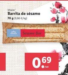 Oferta de Barritas de sésamo por 0,69€