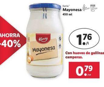 Oferta de Mayonesa Kania por 0,79€