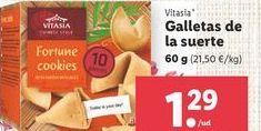 Oferta de Galletas Vitasia por 1,29€