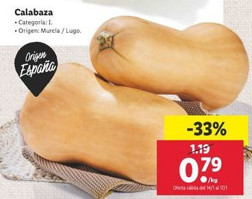 Oferta de Calabaza por 0,79€