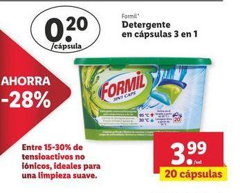 Oferta de Detergente Formil por 3,99€