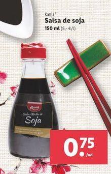 Oferta de Salsa de soja Kania por 0,75€