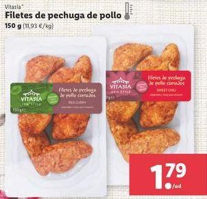 Oferta de Platos preparados Vitasia por 1,79€