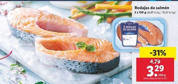 Oferta de Rodajas de salmón por 3,29€