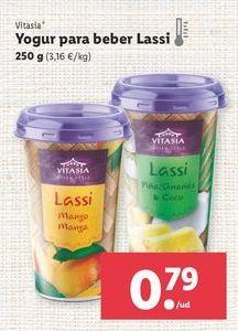 Oferta de Yogur líquido Vitasia por 0,79€