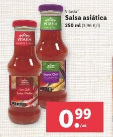 Oferta de Salsas Vitasia por 0,99€