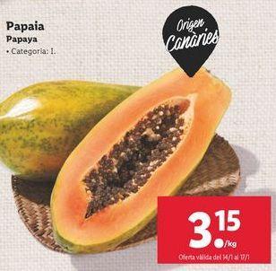 Oferta de Papayas por 3,15€