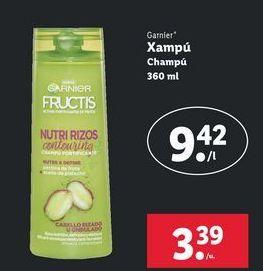 Oferta de Champú Garnier por 3,39€