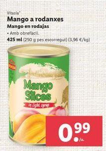 Oferta de Mangos Vitasia por 0,99€