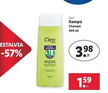 Oferta de Champú Cien por 1,59€