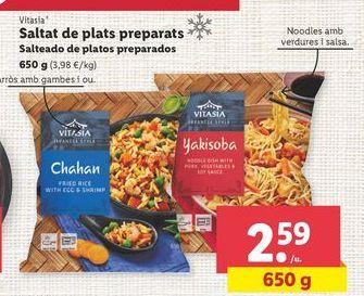 Oferta de Platos preparados Vitasia por 2,59€