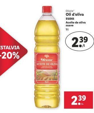 Oferta de Aceite de oliva olisone por 2,39€