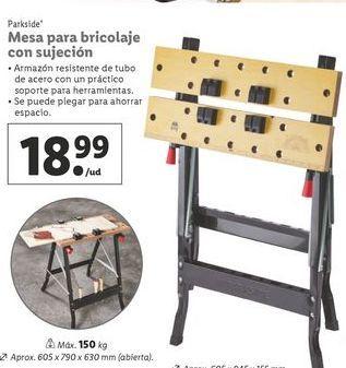 Oferta de Mesa de trabajo Parkside por 18,99€