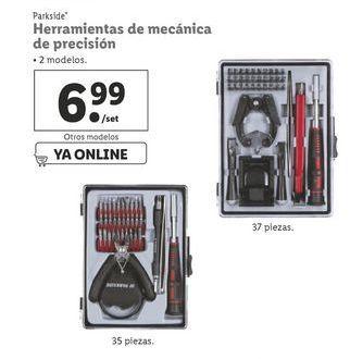 Oferta de Herramientas Parkside por 6,99€