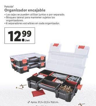 Oferta de Organizador Parkside por 12,99€