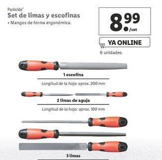 Oferta de Limas Parkside por 8,99€