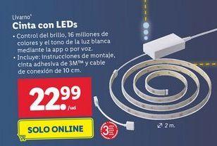 Oferta de Iluminación Livarno por 22,99€