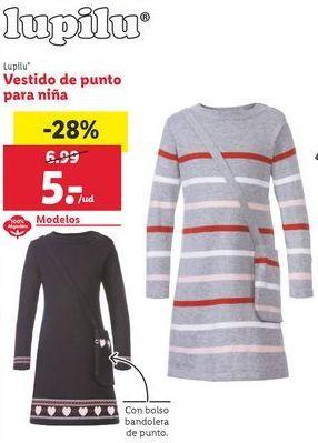 Oferta de Vestidos niña Lupilu por 5€