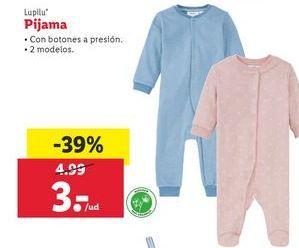 Oferta de Pijama Lupilu por 3€