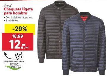 Oferta de Chaqueta Livergy por 12€