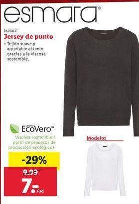 Oferta de Jersey de punto esmara por 7€