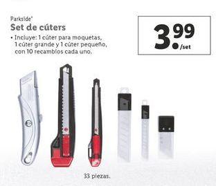 Oferta de Cutter Parkside por 3,99€