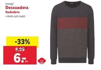 Oferta de Sudadera Livergy por 6€