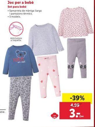 Oferta de Ropa bebé Lupilu por 3€