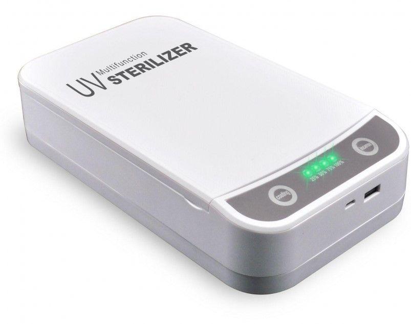 Oferta de Caja esterilizadora UV UVBOX-WH por 19,9€