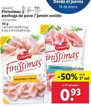 Oferta de Jamón por 1,85€