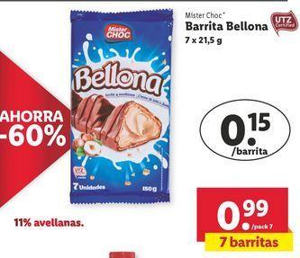 Oferta de Chocolate Mister Choc por 0,99€