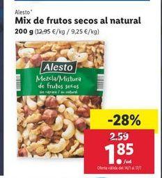 Oferta de Frutos secos Alesto por 1,85€